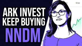 ARK Invest Keeps BUYING Nano Dimension Stock | NNDM Stock Analysis