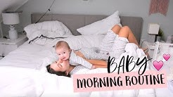 BABY MORNING ROUTINE! ▹ AnnaMaria ♡