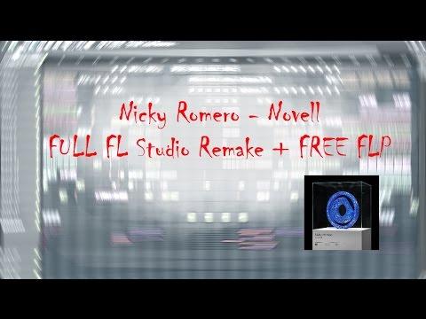 Nicky Romero - Novell (FULL FL Studio Remake + FREE FLP)