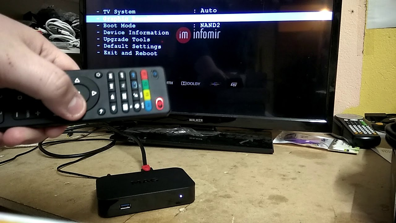 How To Change The Resolution On A MAG IPTV Box