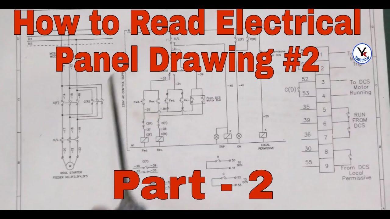electrialdrawing electricaldiagram readelectricaldrawing [ 1280 x 720 Pixel ]