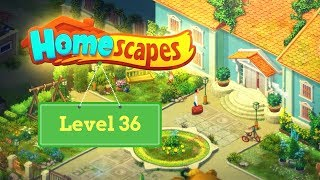 homescapes Walkthrough Level 36 \ Прохождение Homescapes уровень 36