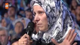 Müslümanlığı seçen Moldovalı kadının Prof. Dr. Nhat Hatipoğlu karşısında duygusal anları - atv