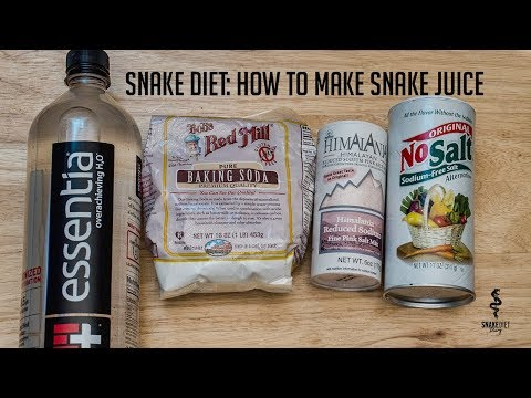 how to make snake juice diet