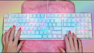ASMR Rainbow Mechanical Keyboard Typing thumbnail