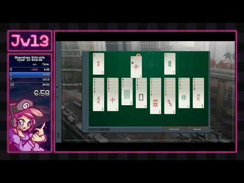 Shenzhen Solitaire   Clear 10 boards in 16:18 [Former WR]  