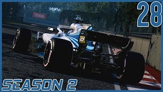 No Grip | F1 2018 Williams Career Mode S2 Ep. 28 | Montreal