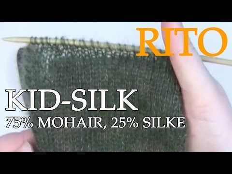 Drops Kid-Silk Garn 75% Mohair, 25% Silke - Rito.dk
