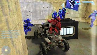 Halo CE (Custom Edition) Multiplayer PC Gameplay #50: CTF em Snowdrop