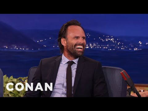Walton Goggins' Horrific Tale Of Losing His Teeth   CONAN on TBS