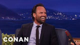 Walton Goggins' Horrific Tale Of Losing His Teeth  - CONAN on TBS
