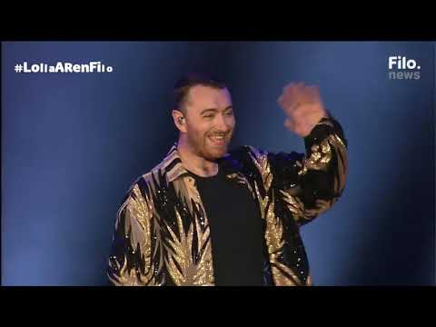 Sam Smith-Stay with Me at Lollapalooza Argentina 2019