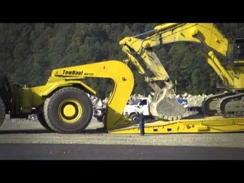 TowHaul – Mining Lowboy Trailers And Haul Truck Towing Equipment