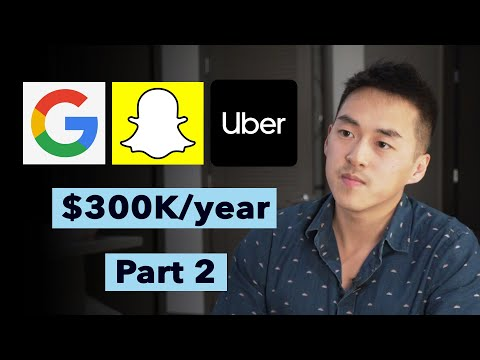 Interviewing At Google, Uber, Snap And Negotiating To A $300k Job Offer
