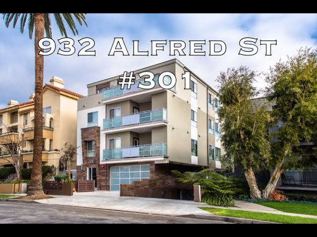 932 Alfred st #301, West Hollywood CA 90069