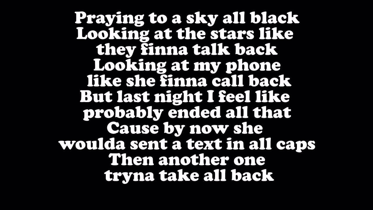 Big Sean Light Lyrics