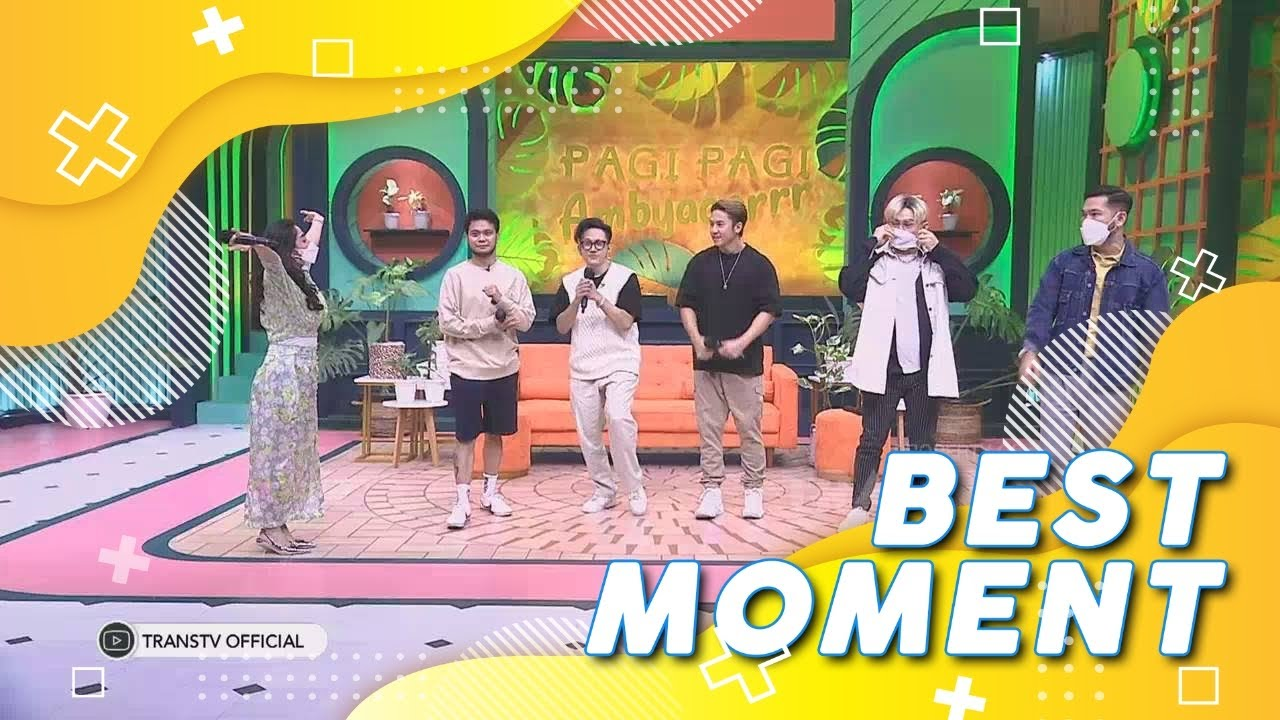 Boyband SMASH BALIK LAGI!! | Best Moment #PagiPagiAmbyar (27/7/21)