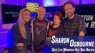 Sharon Osbourne Says Les Moonves Has Bad Breath - Jim Norton & Sam Roberts