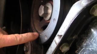 3.6l Dodge harmonic balancer noise and fix