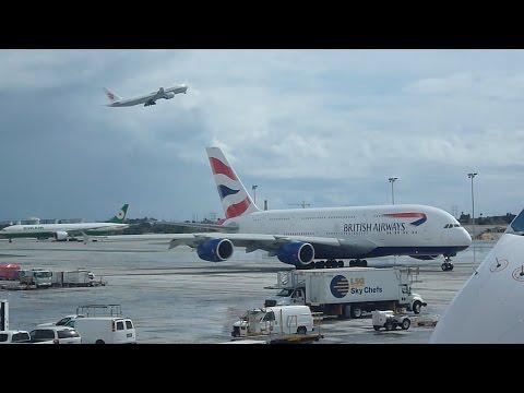 Aircraft at Los Angeles Airport  USA 2015