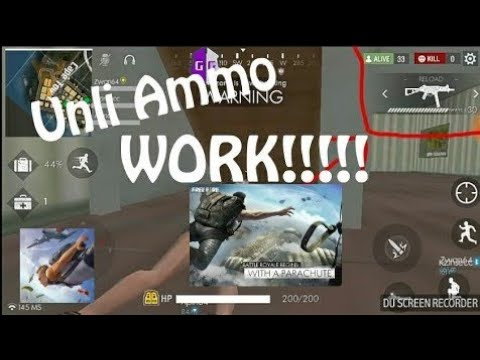 Cheat Free Fire Battleground Unlimited Ammo Big Damage 100