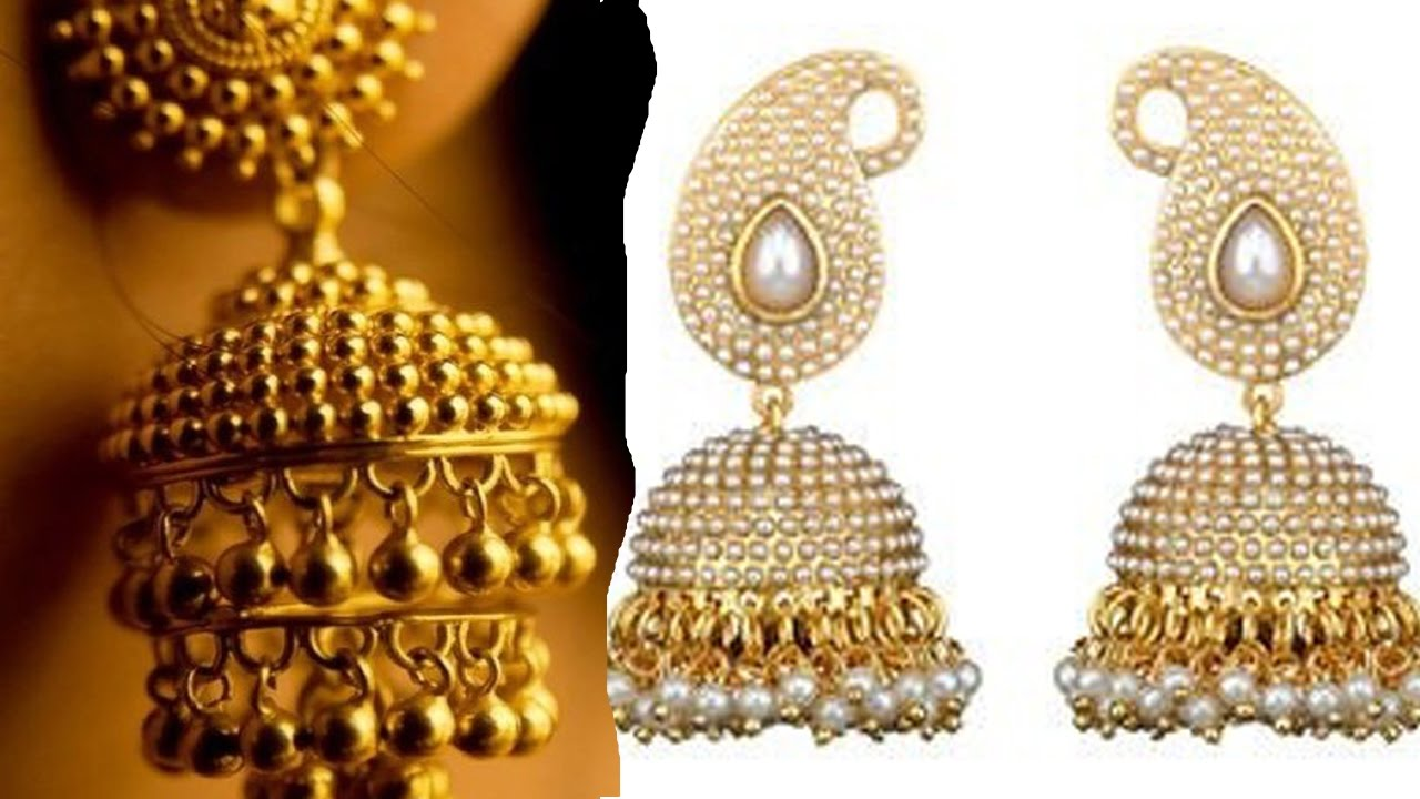 South Indian Wedding Jhumka Designs Youtube 2016 Videos - YouTube