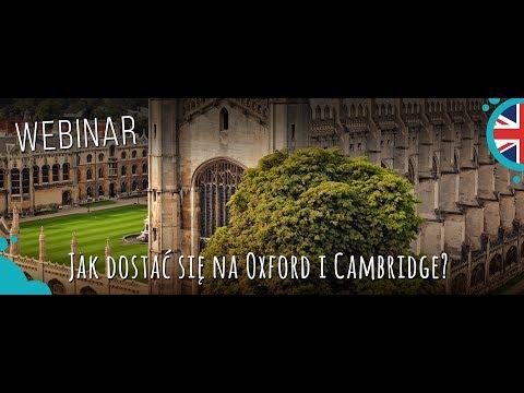 #11 Webinar z Anią o studiach na Cambridge i Oxford
