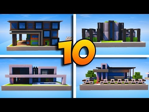 10 MAISONS MODERNES ABSOLUMENT INCROYABLES !