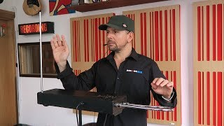 The Moog Theremin In Action