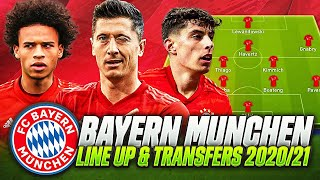 Bayern munich line up 2020/2021 with sanÉ✅😈& confirmed transfers targets & rumours summer 2020/21🏆1,399👍👍👍 likes for a new transfer video also in this v...