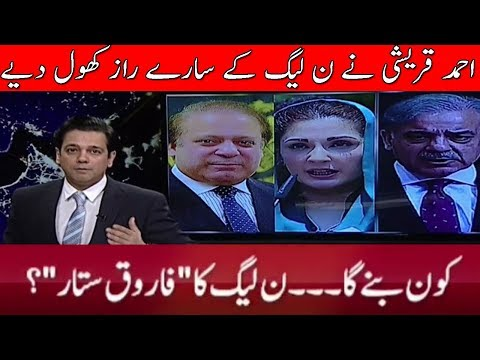 Ahmad Qurashi Revealed Future Plan of PMLN \ @ Q With Ahmed Qureshi | 20 October 2017 | Neo News