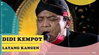 Didi Kempot - Layang Kangen Lirik Live Konser Amal dari Rumah