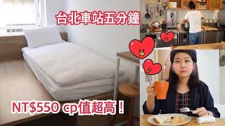 Room Tour【台北青旅介紹】法國型男做早餐給你吃!超大露天 ...