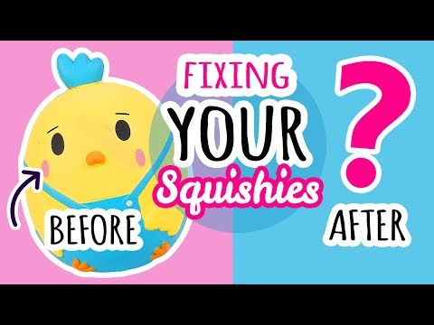 Squishy Makeover: Fixing Your Squishies #11