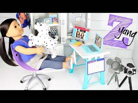 American Girl Doll Z Desk Playset Review