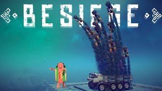 Besiege - The BEST Transformer - 60 Missile Truck - Snapchat Hotdog? - Besiege Gameplay Highlights