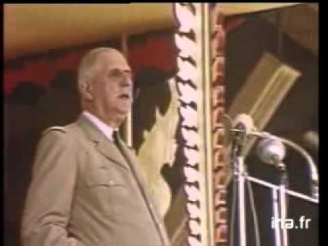 Le discours de Phnom-Penh: le Général de Gaulle visionnaire hier et aujourd'hui