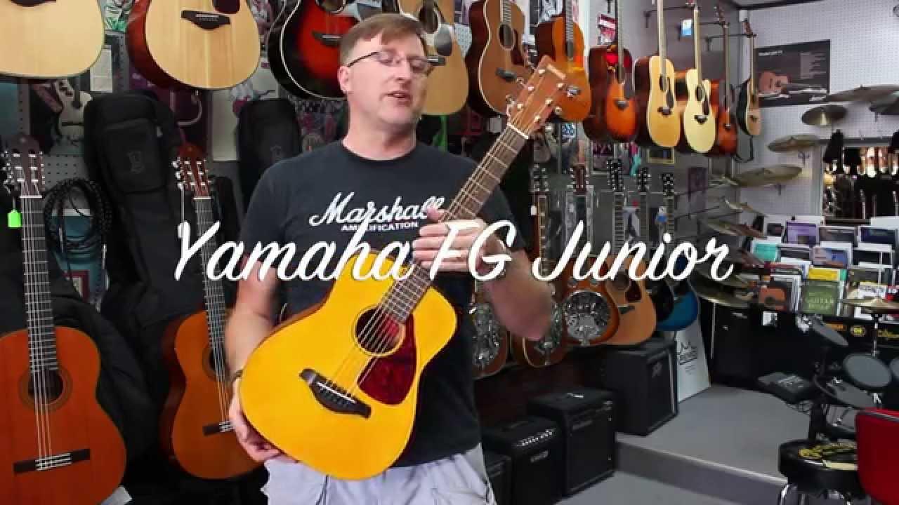 Yamaha Fg Junior Or Jr1 3 4 Size Acoustic Guitar Youtube