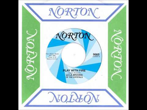 """La La Brooks of The Crystals """"Play With Fire"""" (Norton Records) Rolling Stones cover ft. Mick Collins"""