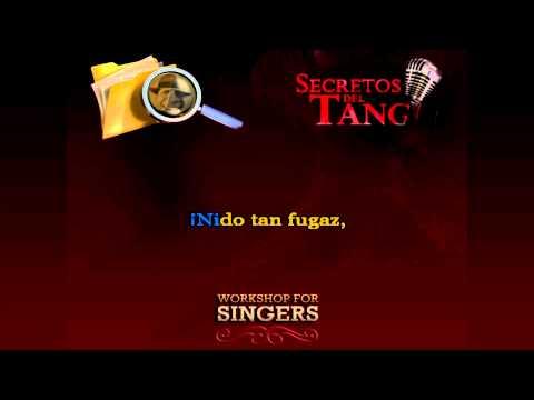 Poema - Karaoke - TANGO instrumental  Francisco Canaro