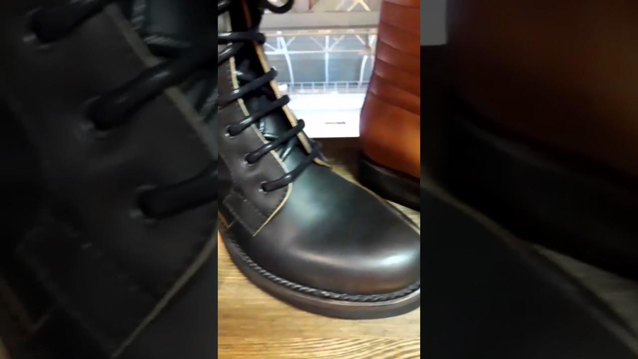 Кожаные ботинки GBX. Посылка с сайта 6PM.com - YouTube