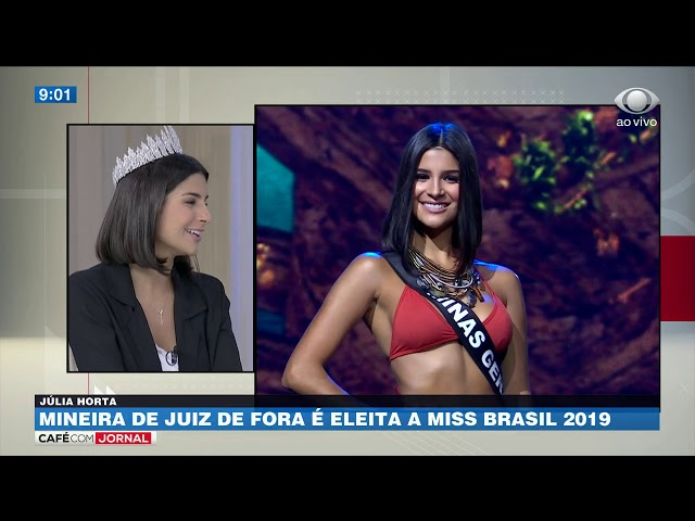Quero das voz às mulheres, diz Miss Brasil 2019
