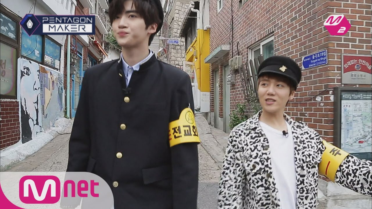 PENTAGON MAKER [M2 PentagonMaker]JIN HO, turns into a tour guide for YAN  AN![EP9 Individual Round M