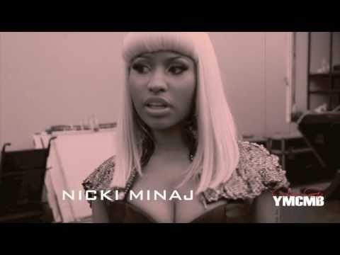 Nicki Minaj Trey Songz- BOTTOMS UP Video Shoot HD
