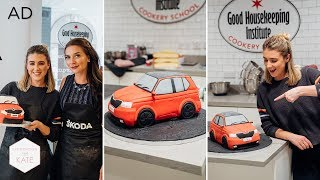 We made a Car out of Cake!! 🚗 #AD- In The Kitchen With Kate