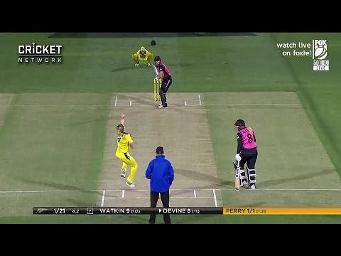 Highlights: Australia V New Zealand, First T20