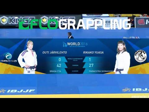 Rikako Yuasa VS Outi Jarvilehto / World Championship 2016