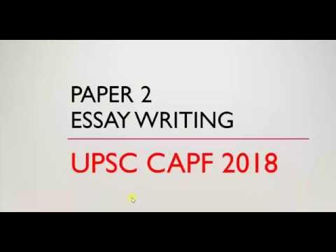 capf ac essay writing