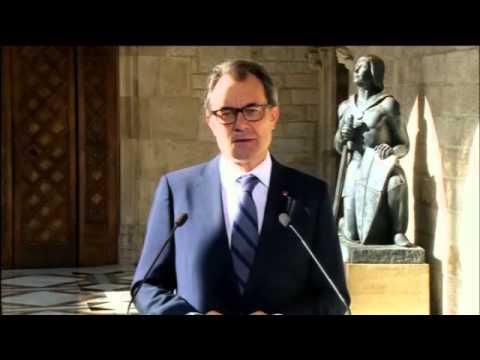 Catalonia leader calls referendum on independence