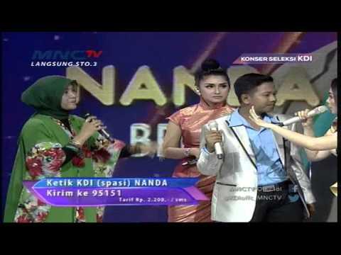 "Nanda "" Tabir Kepalsuan "" Bekasi - Konser Seleksi KDI 2015 (29/3)"